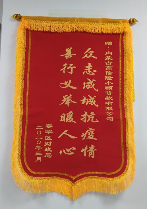 【风雨同舟 共克时艰】内蒙古高信隆向呼市赛罕区财政局捐赠防疫物资(图3)